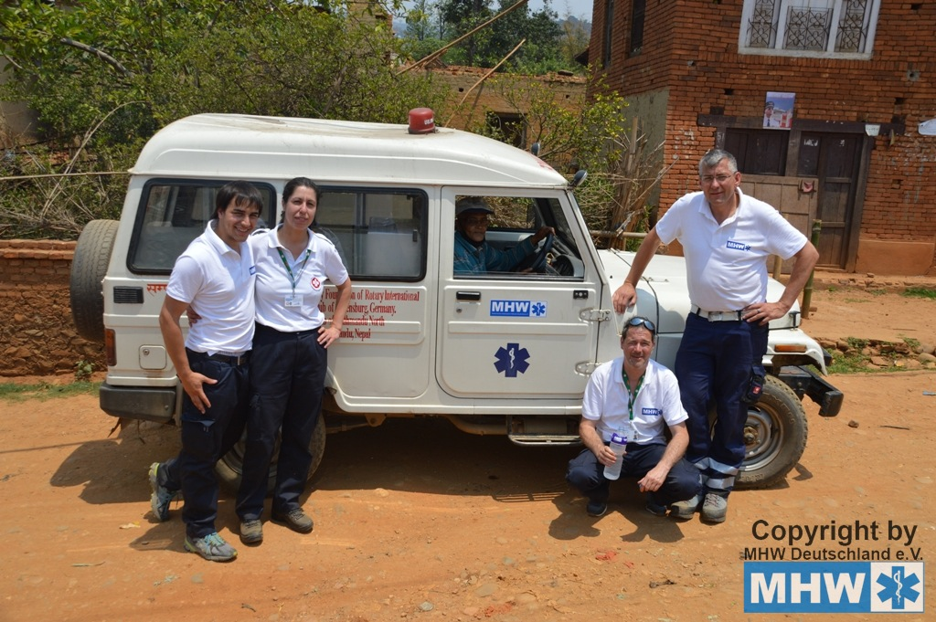Einsatz MHW Foreign Medical Assessment Team Nepal
